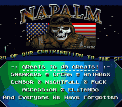 Napalm - Laughing Skull Intro (PD)