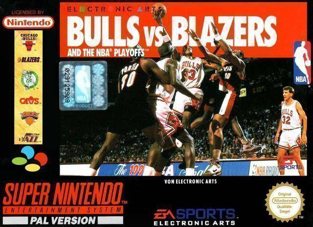 NBA Pro Basketball - Bulls Vs. Blazers