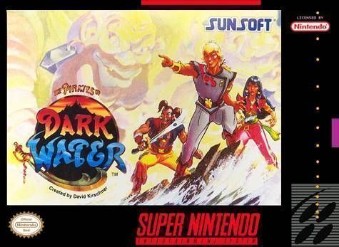 Resultado de imagem para pirates of dark water snes