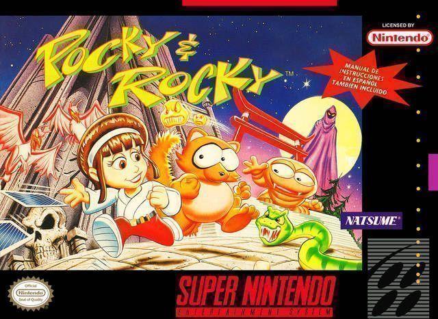 pocky and rocky 2 snes rom