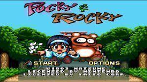 Pocky & Rocky - Sample Cart (NG-Dump Known)
