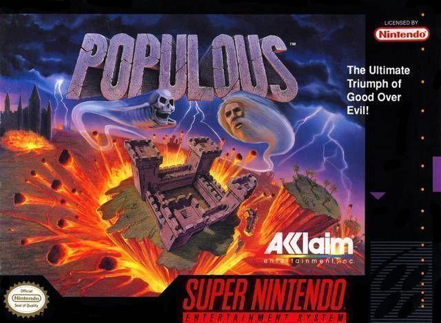 Populous ROM - Super Nintendo (SNES) | Emulator Games
