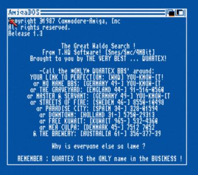 Quartex - The Great Waldo Search Intro (PD)