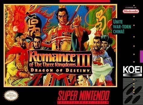 Romance Of The Three Kingdoms III - Dragon Of Destiny