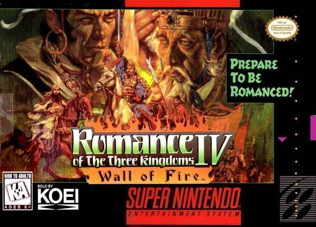 Romance Of The Three Kingdoms IV - Wall Of Fire
