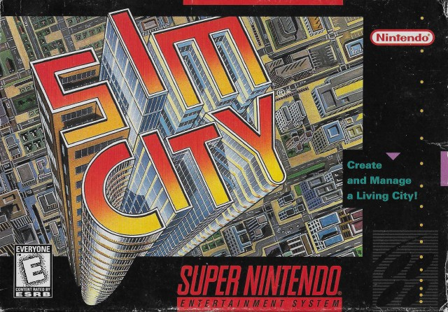 Image result for sim city snes
