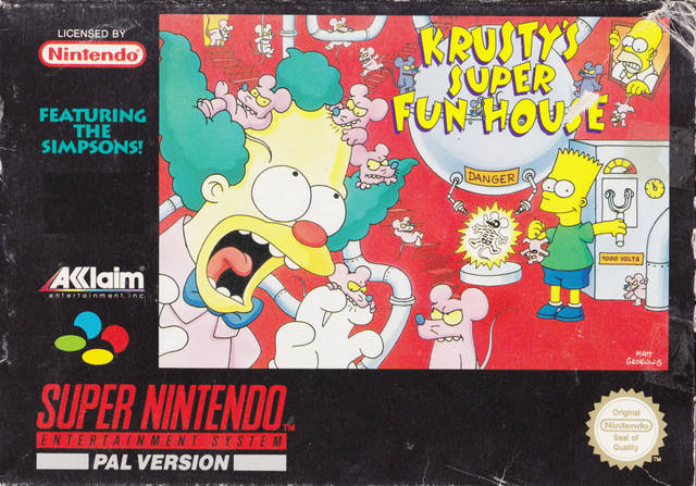 Simpsons, The - Krusty's Super Fun House [a1]