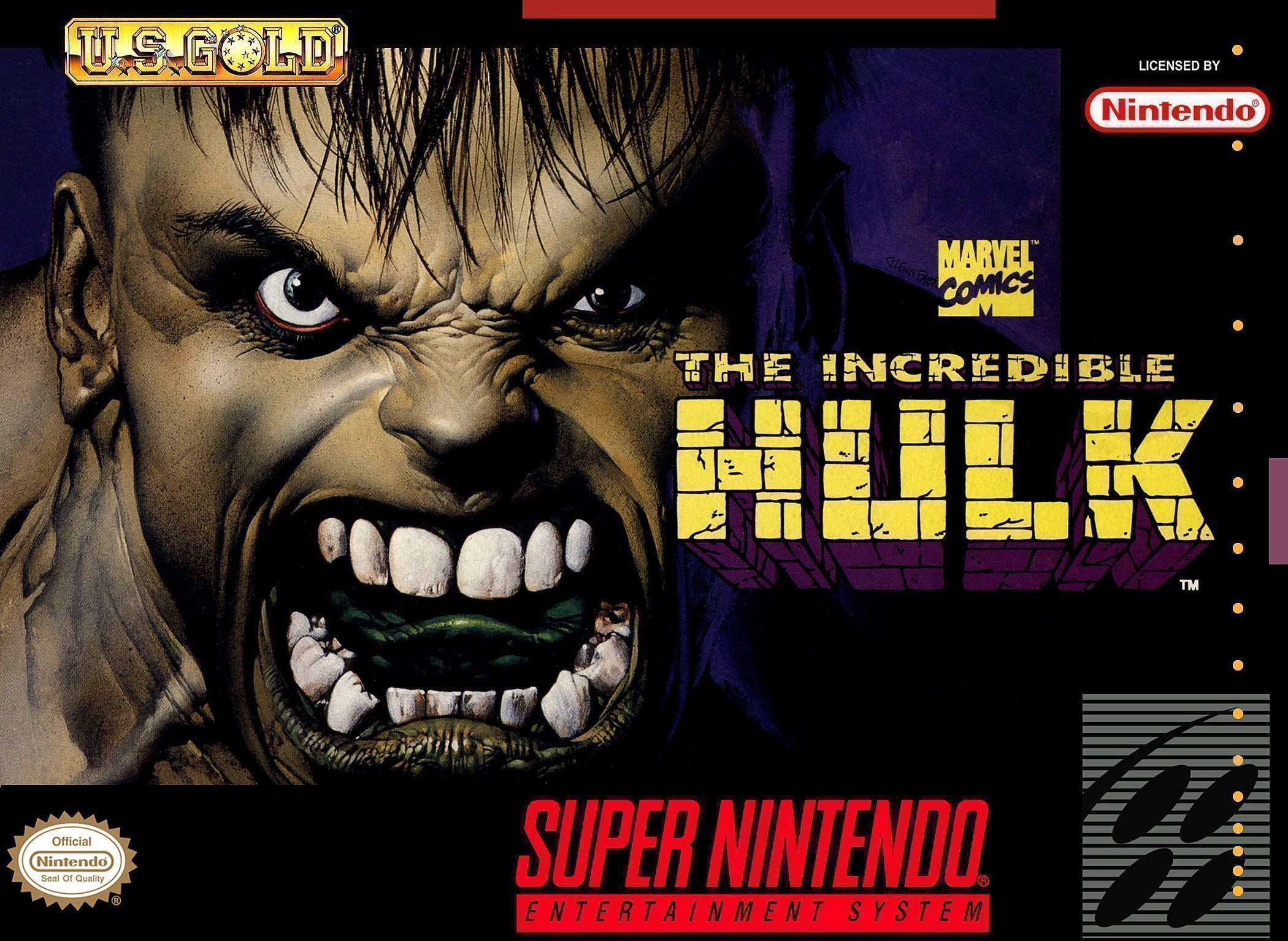SNES Hulk Program (Hack)
