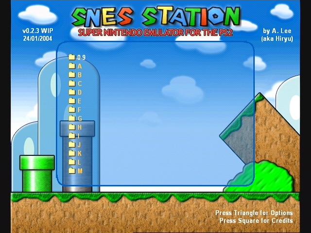 emulatore snes