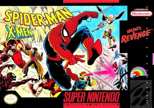 Spider-Man And The X-Men In Arcade's Revenge (4Man)