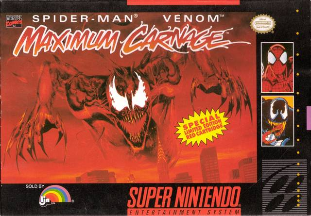 Spider-Man & Venom - Maximum Carnage