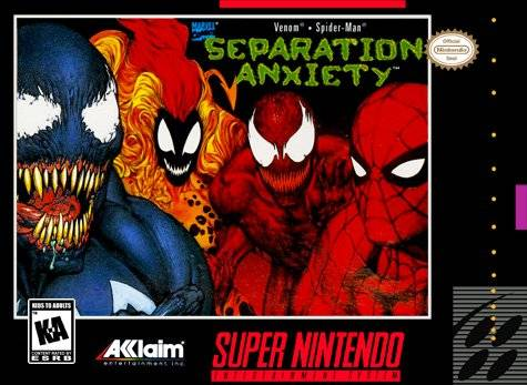 Spider-Man & Venom - Separation Anxiety