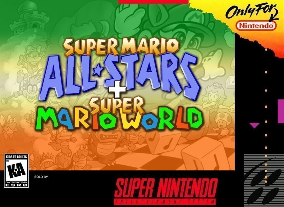 Super Mario All-Stars + Super Mario World ROM - Super Nintendo (SNES