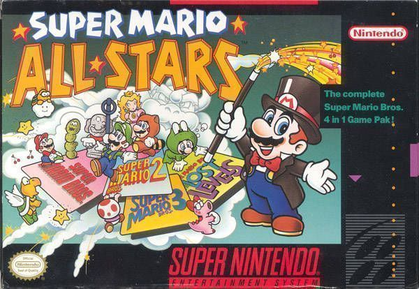 Super Mario All Stars Rom Super Nintendo Snes Emulator Games