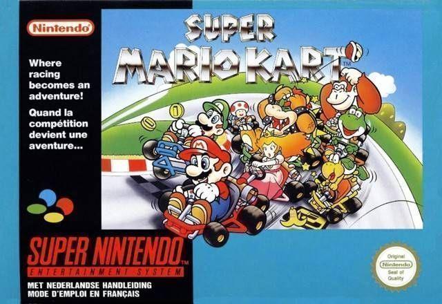 Super Mario Kart (Turbo Hack) ROM - Super Nintendo (SNES) | Emulator