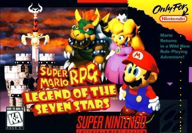 Super Mario Rpg Legend Of The Seven Stars Rom Super Nintendo