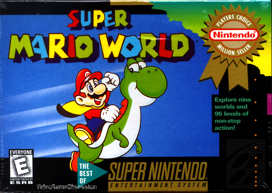 Super Mario World Rom Super Nintendo Snes Emulator Games