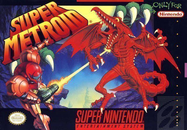 Super Metroid ROM - Super Nintendo (SNES) | Emulator Games