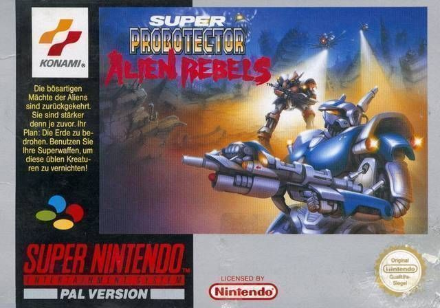 Super Probotector - The Alien Rebels