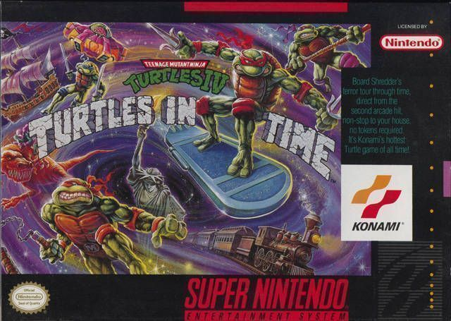Teenage Mutant Ninja Turtles IV - Turtles In Time