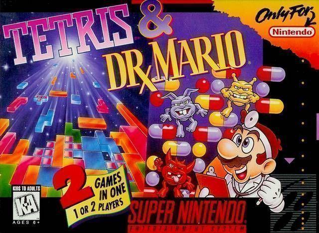 Tetris Dr Mario Rom Super Nintendo Snes Emulator Games