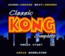 classic kong rom
