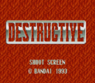 destructive, super scope rom