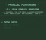 logic entertainment - parallel playground (pd) rom