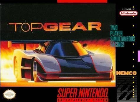 Top Gear Rom Super Nintendo Snes Emulator Games