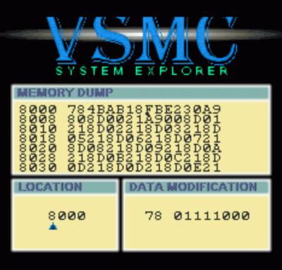VSMC System Explorer (PD)